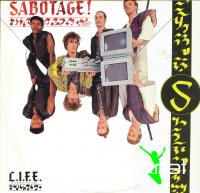 Sabotage - L.I.F.E. (Life.Information.Force.Energy) (12'') 86'