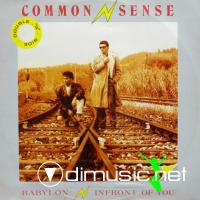 Common Sense - In Front Of You-Babylon (Vinyl, 12'') 1985