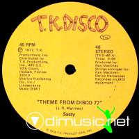 Sassy – Theme From Disco 77 - Single 12'' - 1977