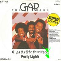 The Gap Band - Oops Up Side Your Head-Party Lights - Single 12'' - 1979
