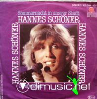 Hannes Schoner - Sommernacht in unsrer Stadt - Single 7'' - 1982