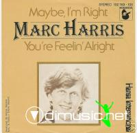 Marc Harris – Maybe I'm Right - Single 7'' - 1980'