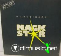 D.D. Robinson – Magic Star - Single 12'' - 1987
