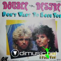 Double Desire – Don't Want To Lose You - Single 7'' - 1988