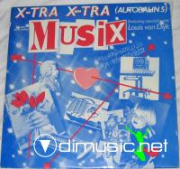 Musix  – X-tra X-tra (Autobahn 5) - Single 12''- 1985