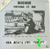 Richie – Trying It On - Single 12'' - 1983