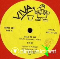 C A M - Talk To Me - Single 12'' - 1987