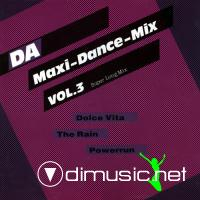 Various - DA Maxi-Dance-Mix Vol. 3 (LP 1987)