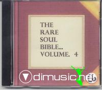 Various -The Rare Soul Bible. vol.1 - vol. 4 [VERY RARE]
