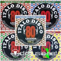 VA - I Love Italo Disco Legends (Vol.1-5) - 2011