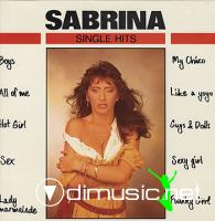Sabrina - Single Hits  (LP 1989)