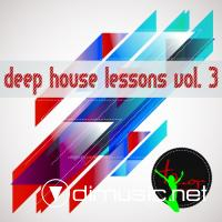 Cover Album of VA - Deep House Lessons Vol 3(2012)
