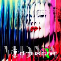 Cover Album of Madonna - MDNA (Japan Edition) (2012)