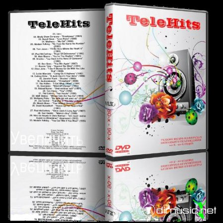 VA - TeleHits German TV, 80-90 (2012) 2 X DVD5 + AVI
