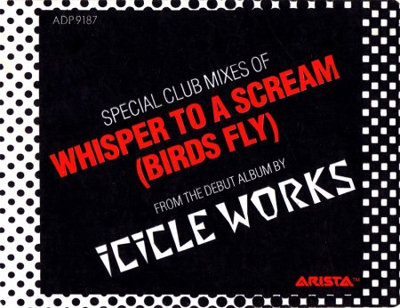 The Icicle Works - Whisper To A Scream (Birds Fly) (US 12'' Promo)