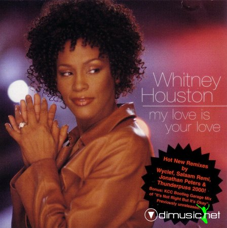 Whitney Houston - My Love Is Your Love (CDM)  1999