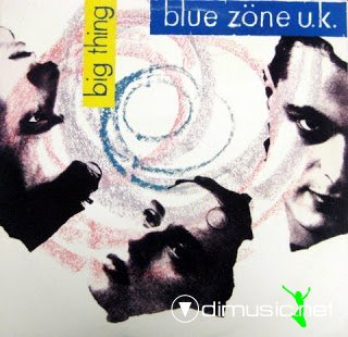 BLUE ZONE U.K - Big Thing (1988)(Rare)+Cover
