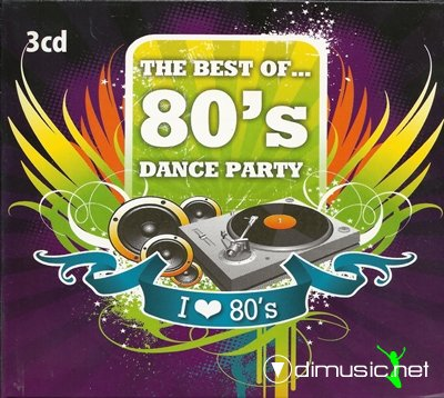 Various - The Best of 80's - Dance party (2012)