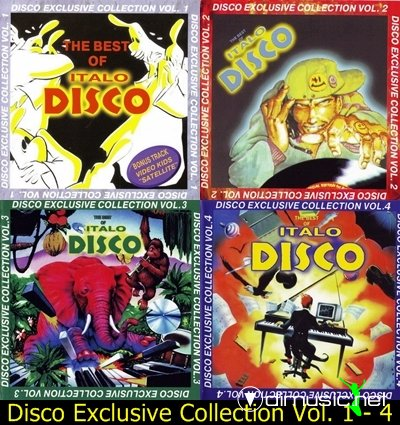 Cover Album of Disco Exclusive Collection Vol. 1 - 4