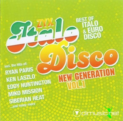 Various - ZYX Italo Disco New Generation Vol. 1