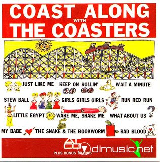 COASTERS - COAST ALONG WITH THE COASTERS (ATCO 1962) Remastered + 12 bonus