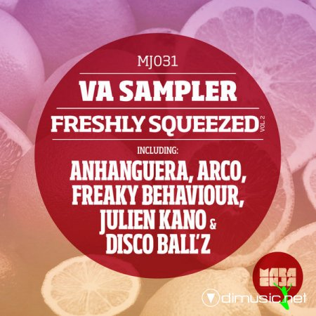 Cover Album of Freshly Squeezed Sampler Vol. 2