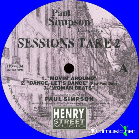 Paul Simpson - Paul Simpson Presents Sessions Take 2