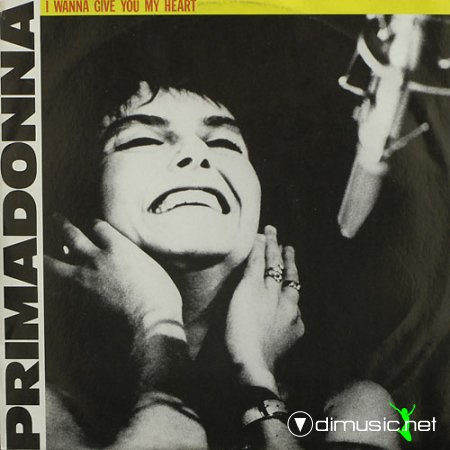 Primadonna ‎– I Wanna Give You My Heart - Single 12'' - 1986