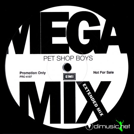 Pet Shop Boys - Mega Mix (Sweden 12'' Promo) (1991)