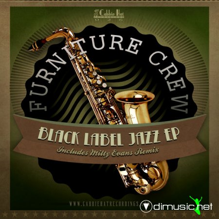 Furniture Crew - Black Label Jazz EP (Incl. Milty Evans Remix)