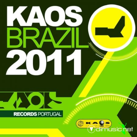 Cover Album of VA - Kaos Brazil (2011)