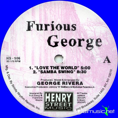 Furious George, George Rivera – Furious George II