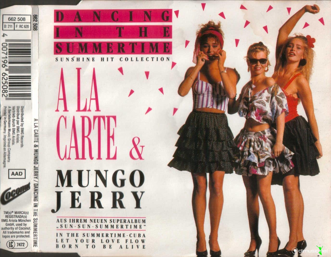 A la carte mungo jerry dancing in the summertime cd for Dance music 1989