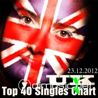 The Official UK Top 40 Singles Chart 23-12-2012