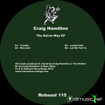 Craig Hamilton – The Kelvin Way EP