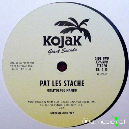 Pat Les Stache - The Spirit Rides Again