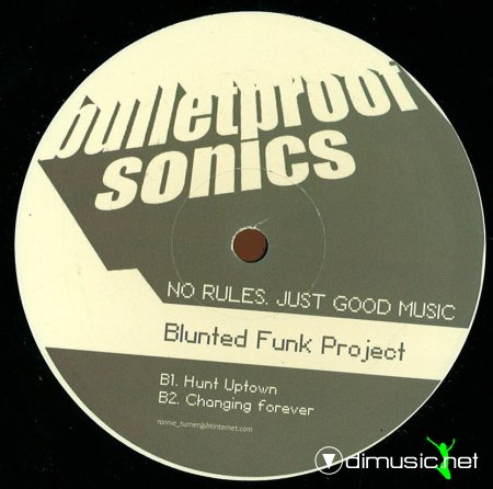 Cover Album of Childs & Moore / Blunted Funk Project - Goodfoot EP