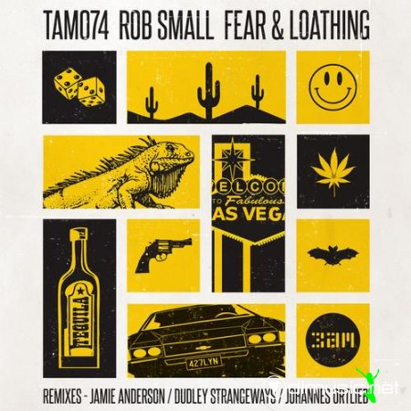 Cover Album of Rob Small – Fear & Loathing