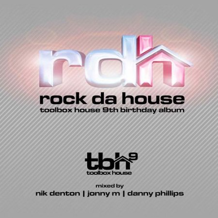 Cover Album of Rock Da House: Toolbox House 9th Birthday Album (2012)