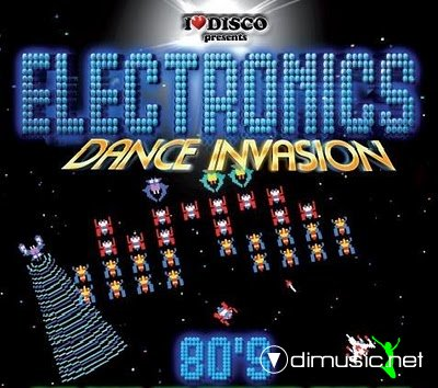 Various - Electronics Dance Invasion 80's (CD)