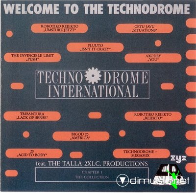 Various - Welcome To The Technodrome (1989)