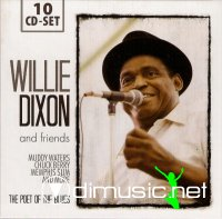 Willie Dixon The Poet Of The Blues (10CD)(blues) (2011)