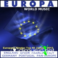 European Singles Top 40 January (2013)