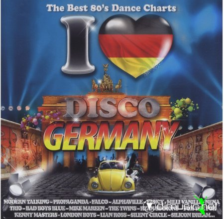 Various - I Love Disco Germany (2012)