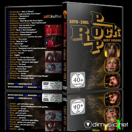 VA - RockPop, Best Videos 1978-1981, Vol. 1 (2013) DVD5 + AVI