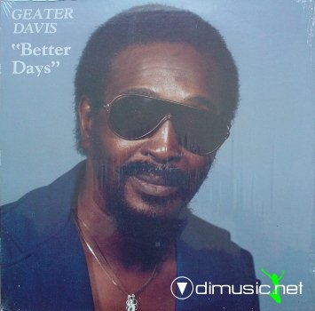 Geater Davis - Better days (1983) lp