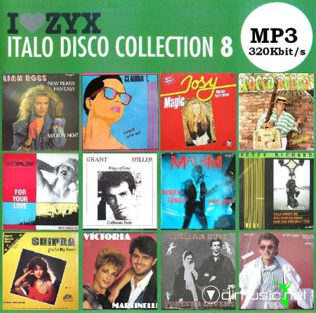 VA - ZYX Italo Disco Collection 8 (2008)