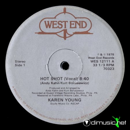 Karen Young - Hot Shot (US 12'')