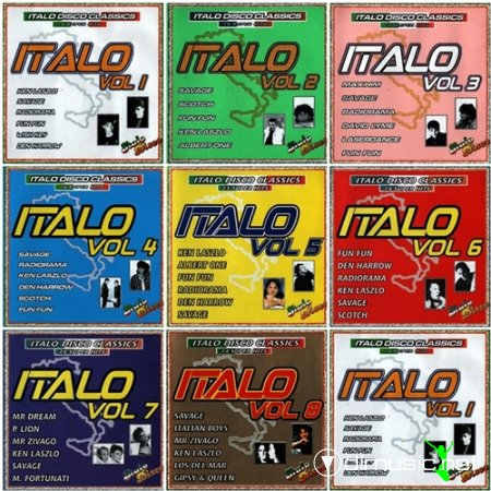 Various - Italo Disco Classics Vol. 1 - 8