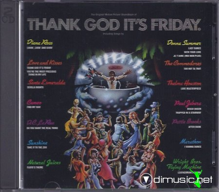 V.A. - Thank God It's Friday O.S.T (1978) CD